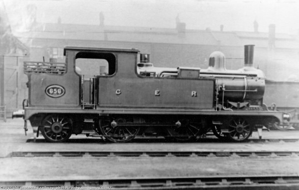 656 T W Worsdell F4 and F5 (GER Class M15) 2-4-2T