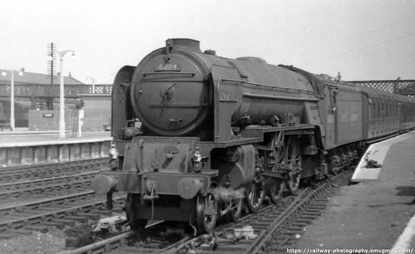60114 W P  Allen Doncaster June 1949