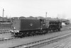 60121 Silurian 'stand by' loco at York shed yard 10th August 1963