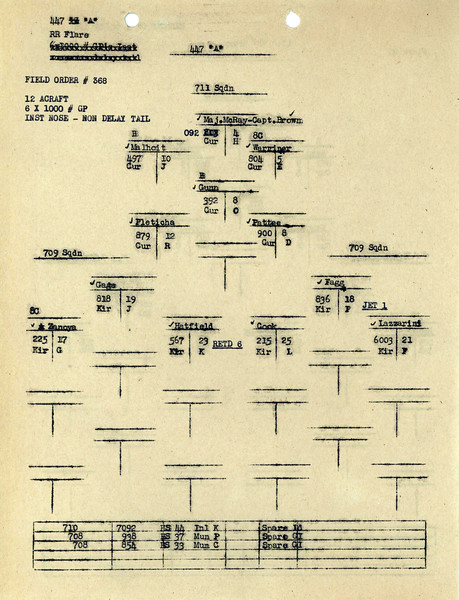 AUG 4 1944 FORMATION 1