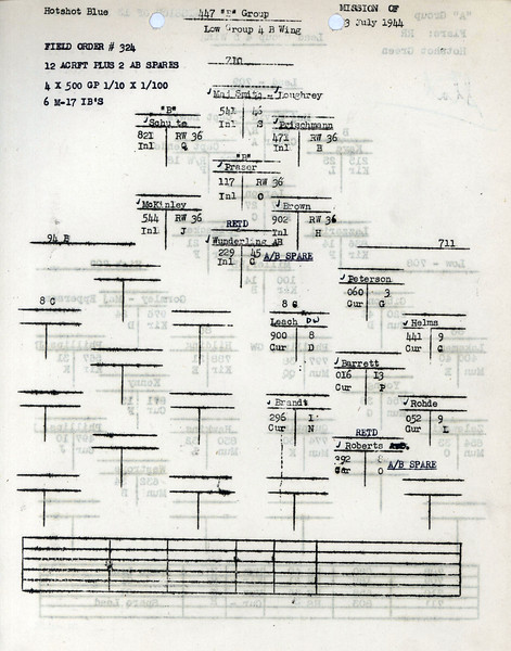 JULY 13 1944 FORMATION 2