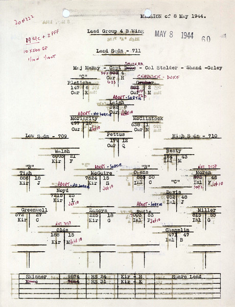 MAY 8 1944 FORMATION 1