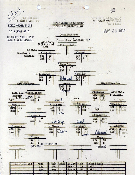 MAY 24 1944 FORMATION 2
