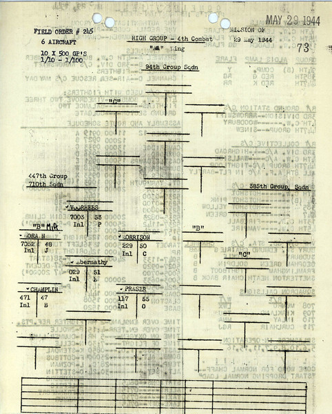 MAY 29 1944 FORMATION 2