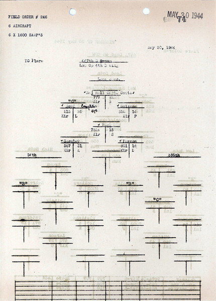 MAY 30 1944 FORMATION 2