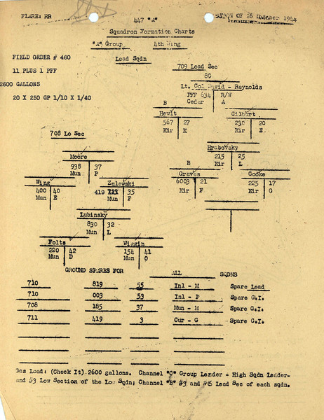 OCT 26 1944 FORMATION 1