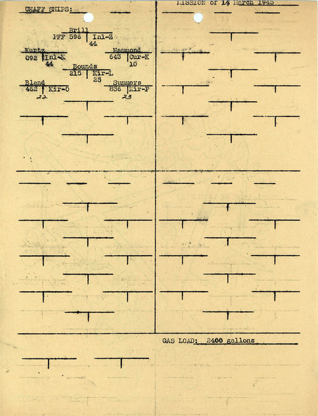 MARCH 14 1945  FORMATION2
