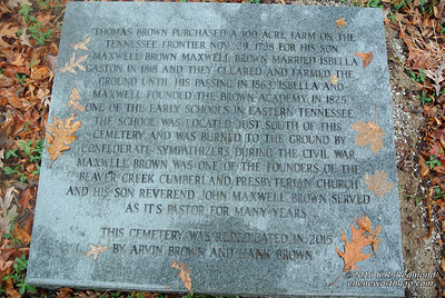 The Brown Cemetery (Powell, Tennessee)