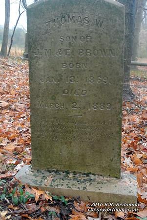 Thomas W. Brown (1869 - 1889)