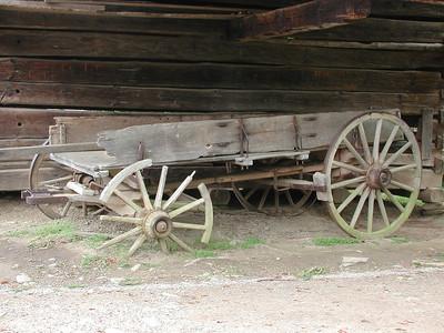 Derelict Wagon