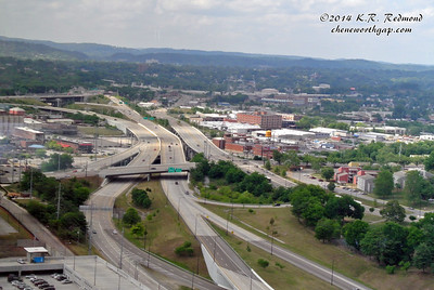 The James White Parkway from Club LeConte