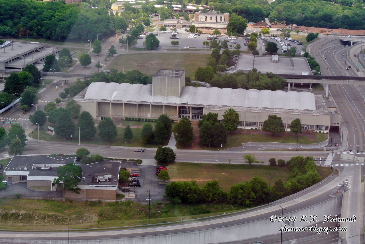 The Civic Coliseum from Club LeConte