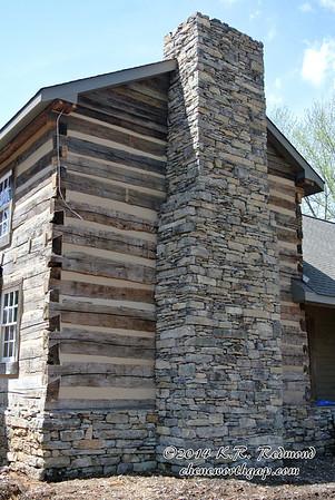 Modernized Log Home in Karns, Tennessee