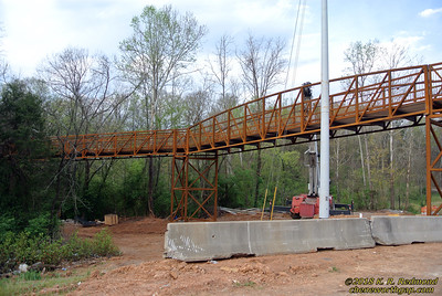 The Third Creek Pedestrian Bridge