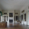 The Library, designed by Robert Adam in 1766, at Osterley Park, Middlesex