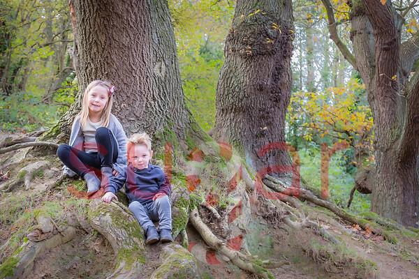 Freya & Mason in Coxley Wood's
