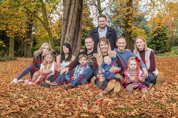 Jade Thistleton Family Photoshoot