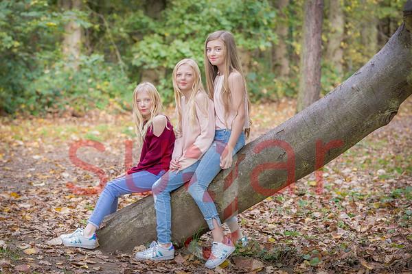 The Bellwood Girls Autumn Photoshoot