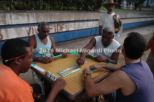 Cuban Dominoe players EPV2776_24x16