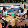 Cuban men playing dominoes EPV2776