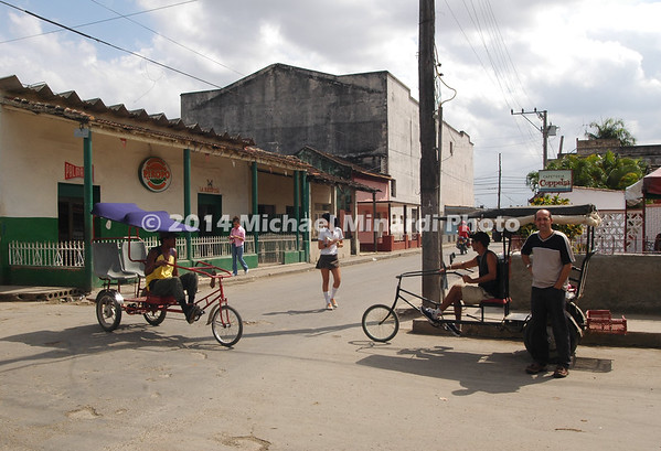 Cuban girl crossing street 2008 157