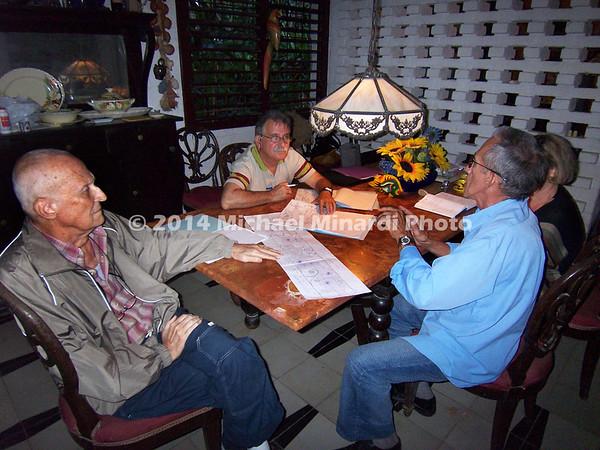Emiliom Escubar working on plans 2008 EPV1508