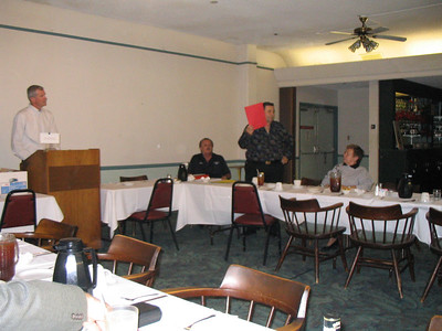 2005 - Thursday Lunchtime Toastmasters Meeting