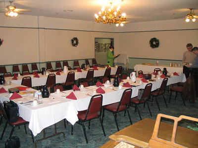 2005 - Business Meeting Set up