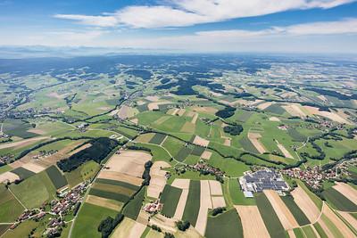11 Gemeinde Lohnsburg - Blick von Kematinger Berg