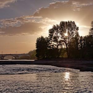 Orléans - La Loire le soir II