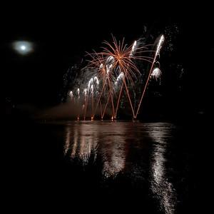 feu d'artifice, fete de Loire, orléans