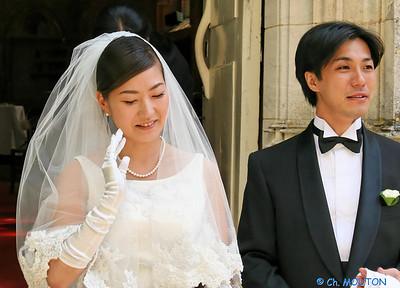 Mariage japonais La Verrerie 3153 C-Mouton