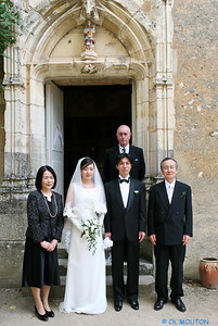 Mariage japonais La Verrerie 3160 C-Mouton