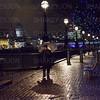 Rainy evening in London