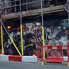 Walker's court in Soho undergoes redevelopment.