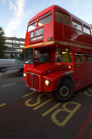 Old Routemaster Double Decker Bus London