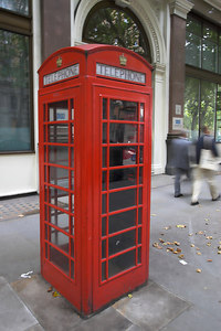 Traditional London Phone Box
