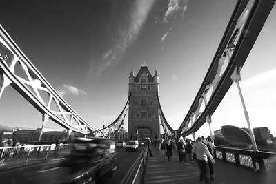 Tower Bridge & Cab London