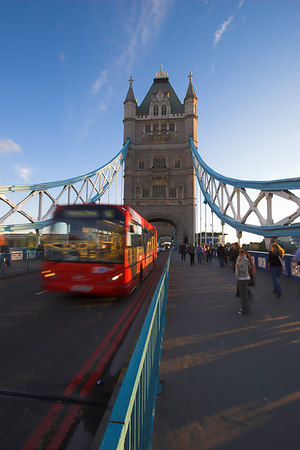 Tower Bridge & Bus London