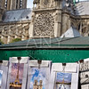 Saint Michel postcards in Notre Dame Paris