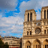 Notre Dame cathedral in Paris France