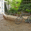 Bicycle in Paris Montmartre at France