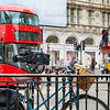 London Bus Piccadilly Circus in UK