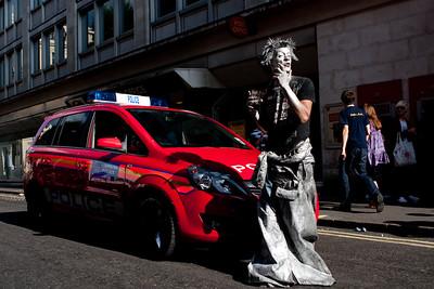 London Pride 2009 Standoff