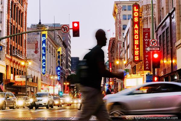 LOS ANGELES. DOWNTOWN. Broadway AV