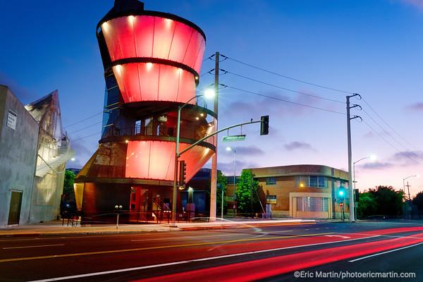 LOS ANGELES. CULVER CITY. Samitaur Tower Un des batiments du projet Hayden tract de l architecte  Eric Owen Moss