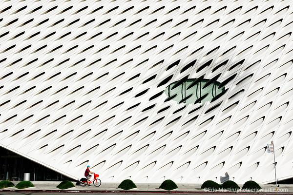 LOS ANGELES. DOWNTOWN. Le musée d art contemporain The Broad.