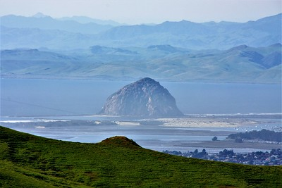 Morro Rock ten miles away thru a 270mm telephoto lens