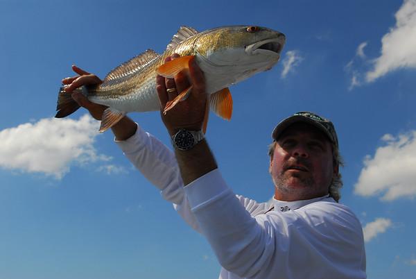 Louisiana Flywater Redfishing - Jim Klug Photos