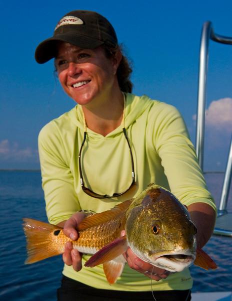 Louisiana Redfishing - Jim Klug Photos - Woodland Plantation and Louisiana Flywater